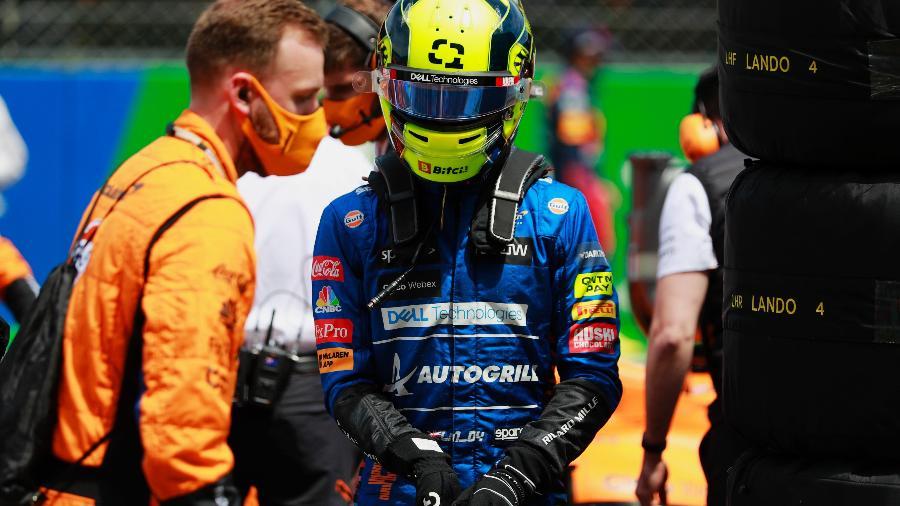Lando Norris é o terceiro colocado no mundial de F1 após três provas - Steven Tee/McLaren