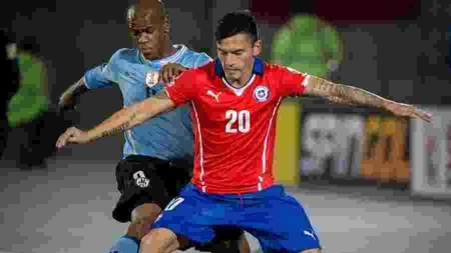 Aránguiz pode voltar ao Inter com pré-contrato, deixando o Bayer Leverkusen - Xinhua/Pedro Mera