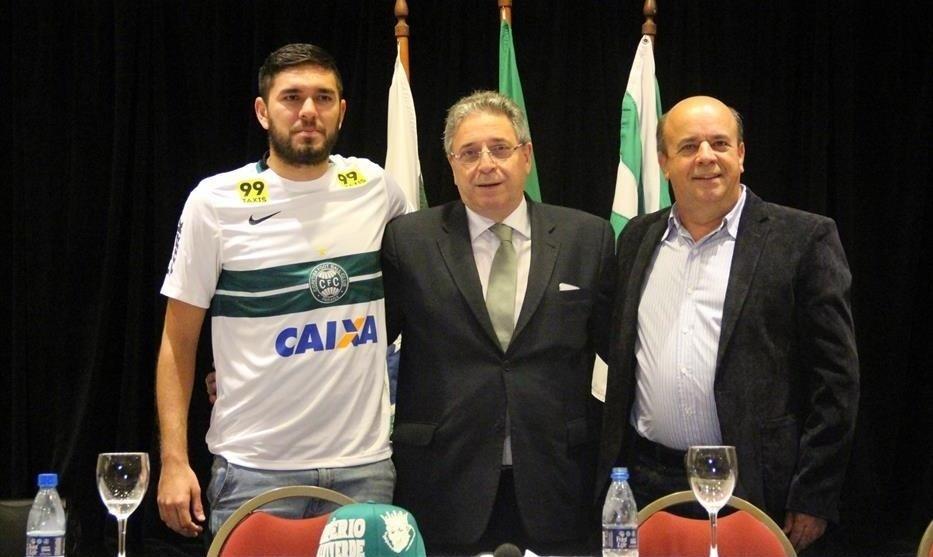 Jorge Ortega, atacante paraguaio contratado pelo Coritiba
