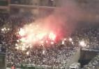Confusão no jogo contra o Sport faz Palmeiras ser punido no STJD