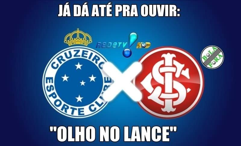 Internautas brincam com campanha de Cruzeiro e Internacional