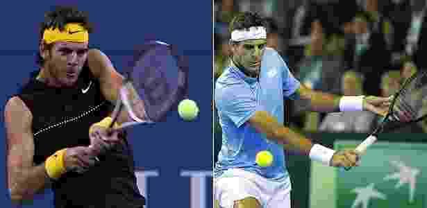 Montagem sobre fotos da AFP e Getty