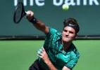 Federer supera Wawrinka e fatura Masters 1.000 de Indian Wells - AFP / FREDERIC J. BROWN