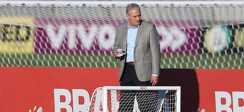 Tite na Granja Comary: casa da seleção vai passar por uma última reforma antes da Copa - Lucas Figueiredo/MoWa Press