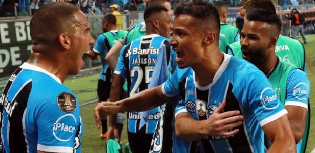 Grêmio reclamou da arbitragem após o primeiro jogo da final da Libertadores de 2017