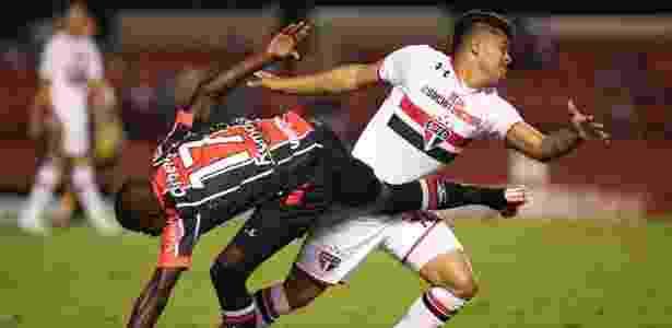 João Paulo estreou pelo São Paulo em 2015, contra o Joinville - Rubens Chiri/saopaulofc.net