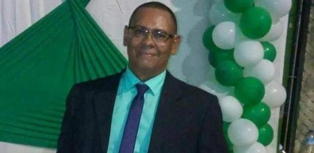 Régis Santana, pai de menino que acusa dirigente do Santos de pedofilia