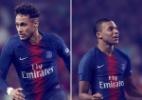 Veja as camisas dos grandes clubes europeus para a próxima temporada - reprodução/PSG
