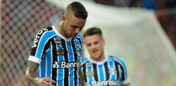 Luan está fora de partida de ida da semifinal da Libertadores nesta terça com River - Thiago Ribeiro/AGIF