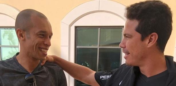 Miranda conversou com Hernanes nos Estados Unidos, onde o São Paulo treina para a Florida Cup