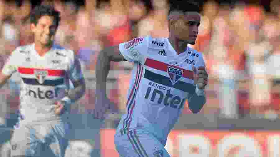 Everton, do São Paulo - Duda Bairros/Agif