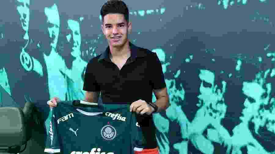 Gustavo Peralta assinou contrato com o Palmeiras e já vinha trabalhando no clube - Twitter/Reprodução