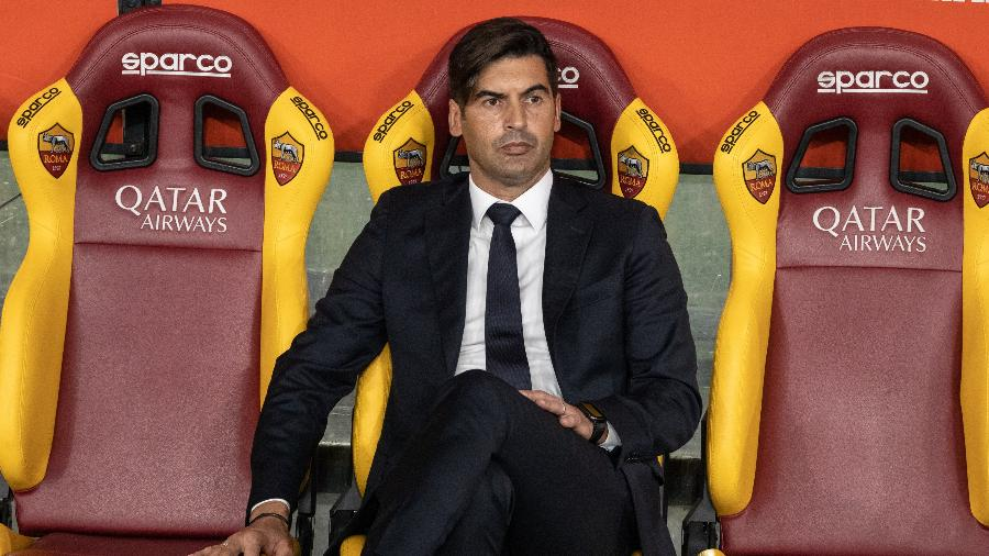 Paulo Fonseca, técnico da Roma - Cosimo Martemucci/Sopa Images/Getty Images