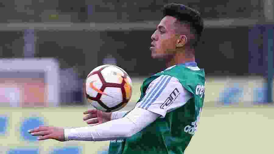 Gabriel Menino ajudou o Palmeiras com uma assistência na partida de hoje - Cesar Greco/Ag. Palmeiras/Divulgação