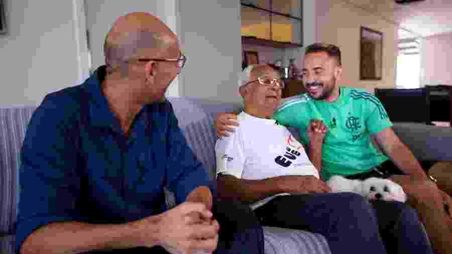 Everton Ribeiro, meia do Flamengo, reencontra primeiro treinador -  Globo / Divulgação