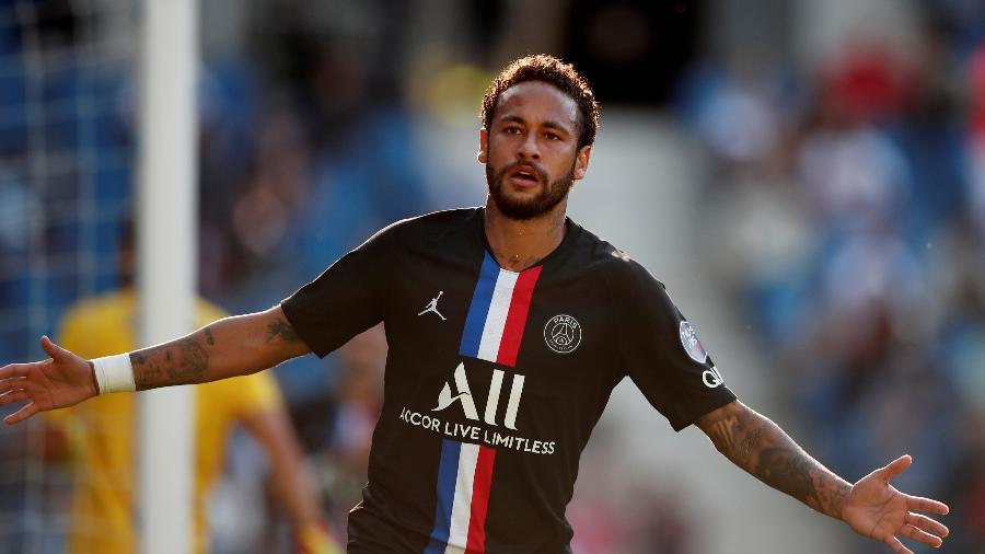 Neymar tenta dar ao PSG o inédito título da Liga dos Campeões - BENOIT TESSIER/REUTERS