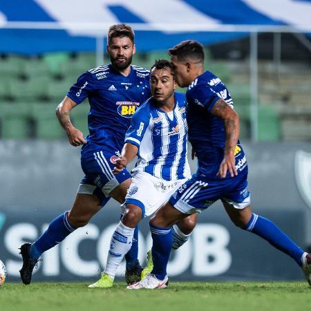 CSA e Cruzeiro em partida pela Série B do Campeonato Brasileiro de 2020 - Bruno Haddad/Cruzeiro