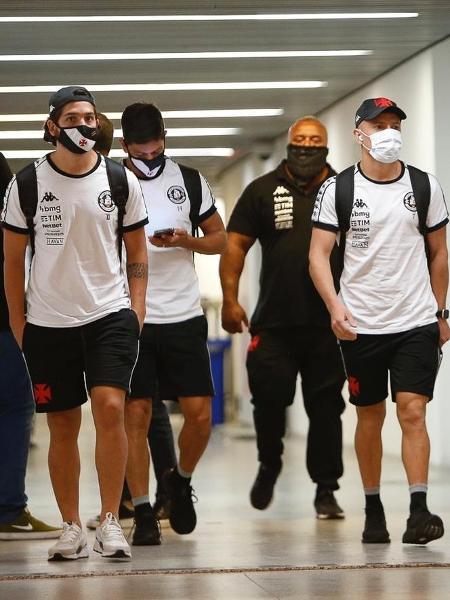 Delegação do Vasco em viagem para Fortaleza durante Brasileiro-2020 - Rafael Ribeiro / Vasco