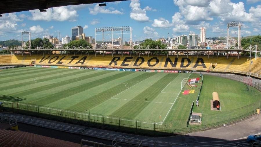 Estádio Raulino de Oliveira, em Volta Redonda - Arquivo / Secom Volta Redonda