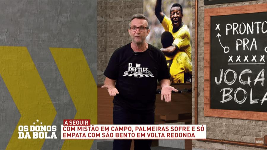 Neto, apresentador do Os Donos da Bola - Reprodução/TV Band
