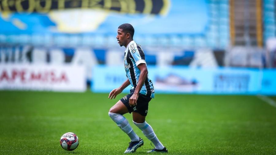 Guilherme Guedes, lateral esquerdo do Grêmio, durante Recopa Gaúcha - Lucas Uebel/Grêmio FBPA