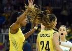 Brasil cai contra carrascas e fica com a prata no vôlei feminino - Gaspar Nobrega/Inovafoto/CBV