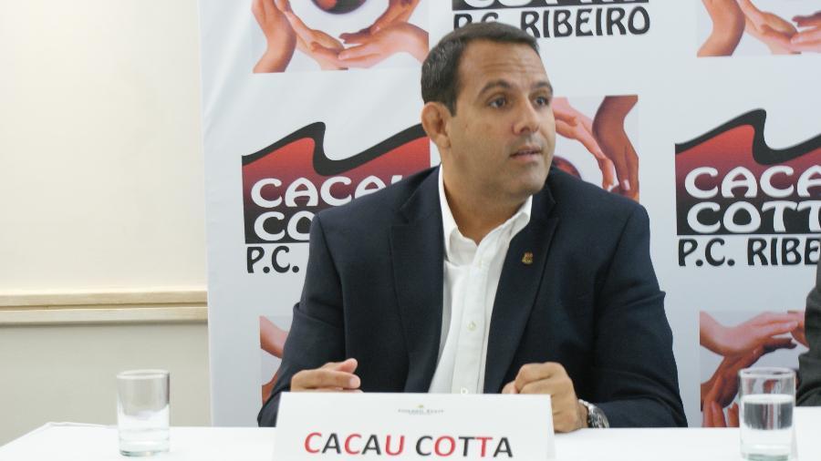 Candidato à presidência do Flamengo, Cacau Cotta alfinetou a gestão Bandeira   - Divulgação/Renato Homem