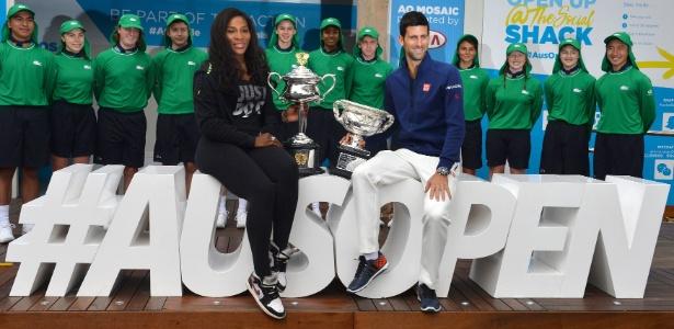 Djokovic declarou que torneios masculinos têm maior público e audiência - AFP/PAUL CROCK