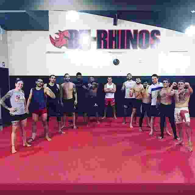 Kenya Miranda treina na academia BH Rhinos, em Belo Horizonte - Reprodução/Instagram