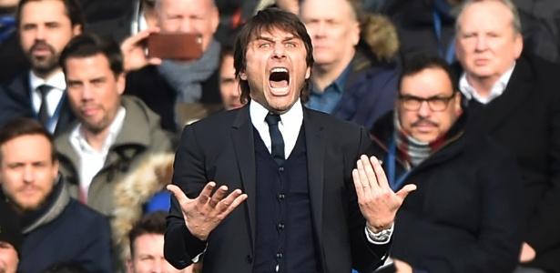 Conte está na liderança do Campeonato Inglês com o Chelsea - Reuters / Hannah McKay