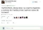 Brasileira melhor do mundo no futsal é insultada e rebate ofensa no Twitter - Reprodução/Twitter