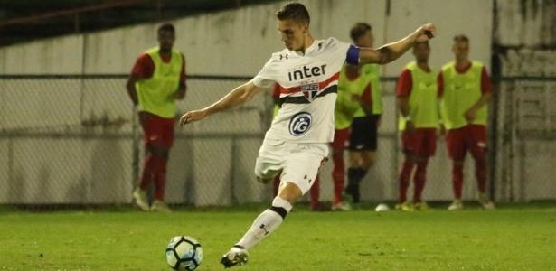 Hugo Gomes disputou o Brasileirão de Aspirantes pelo Tricolor Paulista