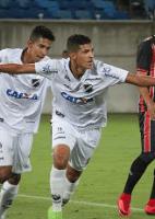 Acertado com o Corinthians, atacante faz gol de voleio no Potiguar (Foto: Divulgação)
