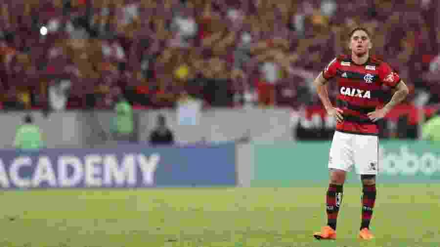 Cuellar é um dos jogadores mais valorizados do Flamengo e espera proposta do exterior - Gilvan de Souza / Flamengo