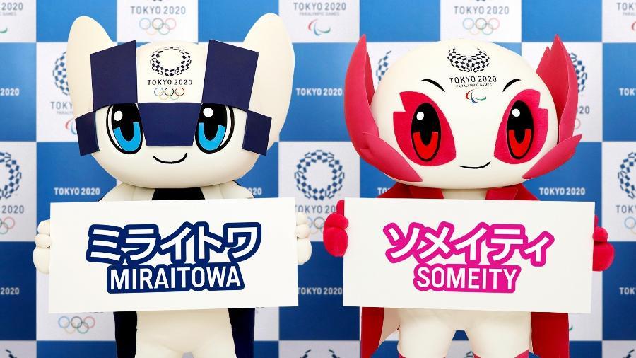 Mascotes dos Jogos Olímpicos de Tóquio têm seus nomes revelados - Reprodução
