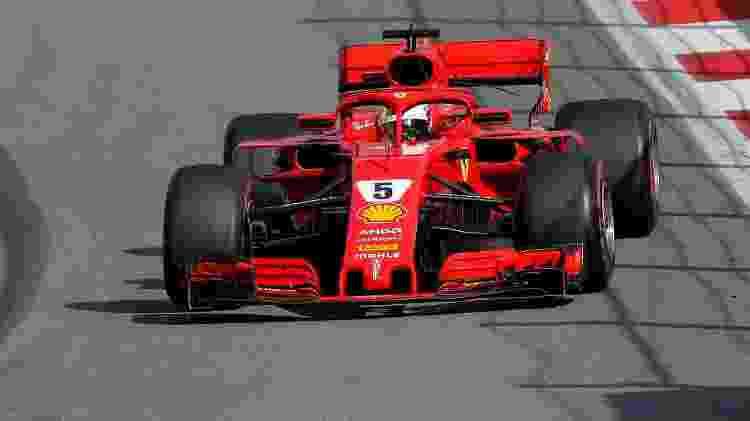 Vettel no GP da Rússia - Maxim Shemetov/Reuters - Maxim Shemetov/Reuters