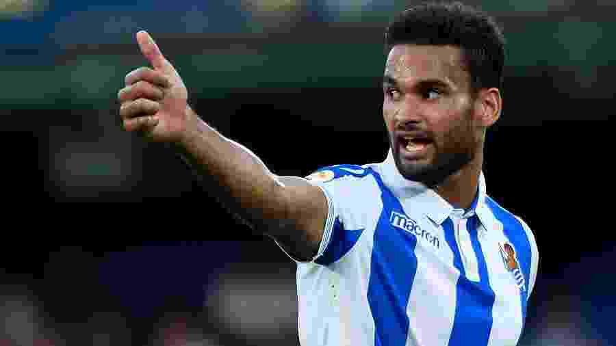 Willian José, da Real Sociedad - JOSE JORDAN / AFP
