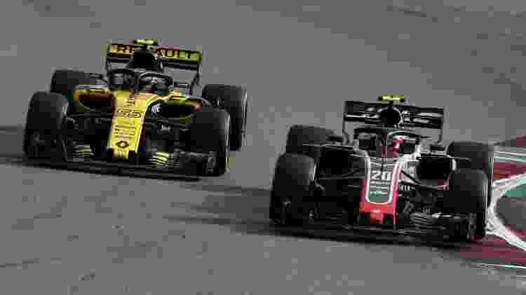 Haas está próxima de tirar Renault do quarto lugar no campeonato - Charles Coates/Getty Images