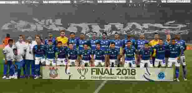 Base da equipe foi mantida e virou trunfo para o Cruzeiro voltar a ser campeão em 2018 - Daniel Vorley/AGIF