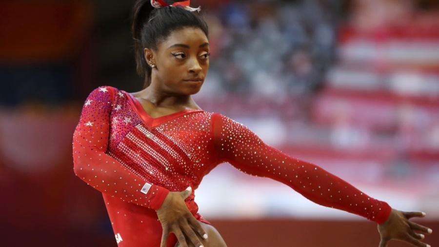 O time americano sobrou na disputa por equipes, a diferença para a Rússia, que ficou com a prata, foi de 8.766 pontos - Francois Nel/Getty Images