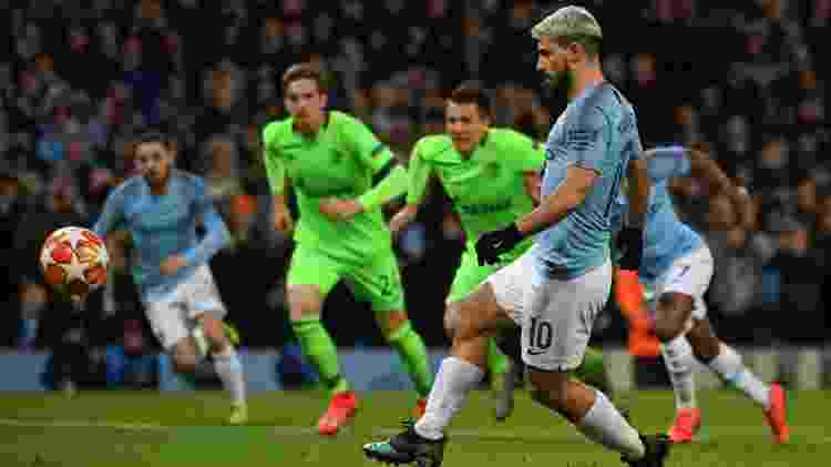 Aguero - Paul ELLIS / AFP - Paul ELLIS / AFP