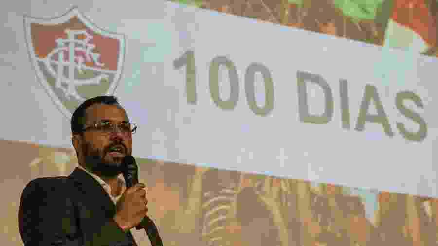 Mario fez balanço de 100 dias de gestão - Lucas Merçon/Fluminense FC