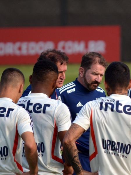Técnico Cuca fez sigilo sobre escalação que enfrenta o Goiás amanhã, pelo Brasileirão - Érico Leonan / saopaulofc.net