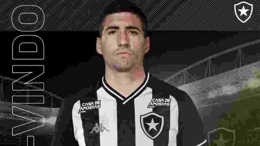Botafogo anunciou a contratação do lateral Federico Barrandeguy  - Reprodução