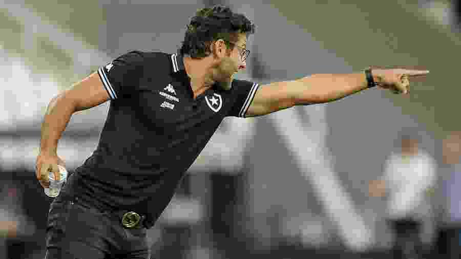 Alberto Valentim foi o citado de Juca Kfouri na pesquisa do UOL Esporte - Allan Carvalho/AGIF