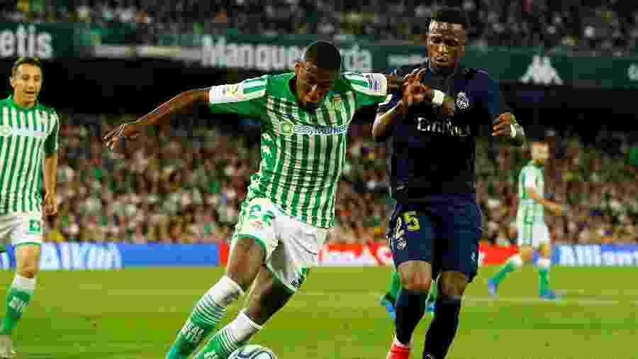 Emerson está emprestado ao Bétis e pode ir para o Bayer Leverkusen, da Alemanha - REUTERS/Marcelo Del Pozo