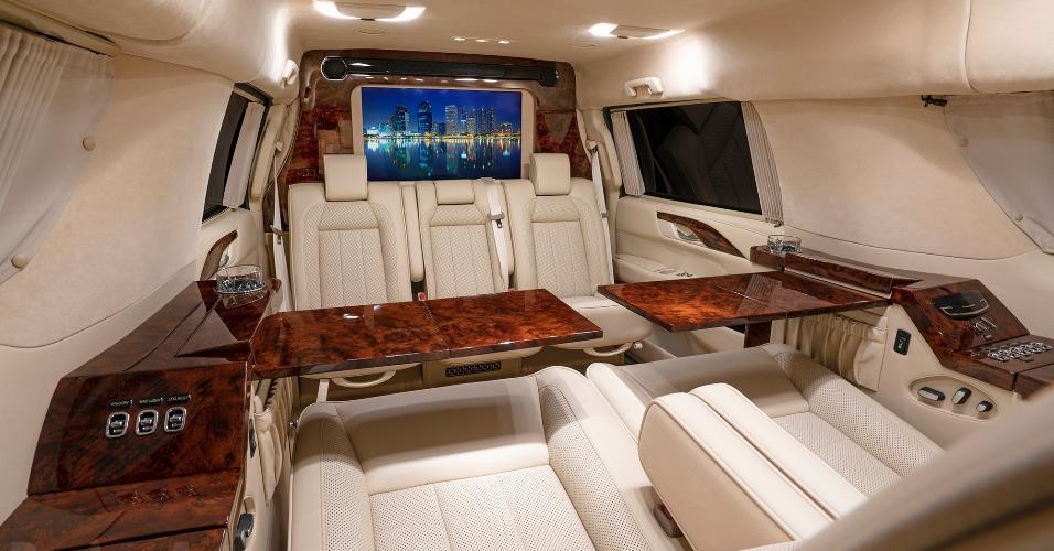 Interior de carro de Tom Brady que será vendido
