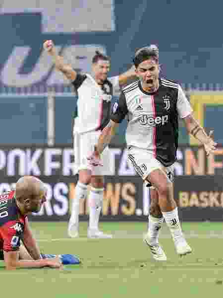 30/06/2020 - Paulo Dybala, da Juventus, marca gol em partida contra o Genoa, pelo Campeonato Italiano - Daniele Badolato - Juventus FC/Juventus FC via Getty Images