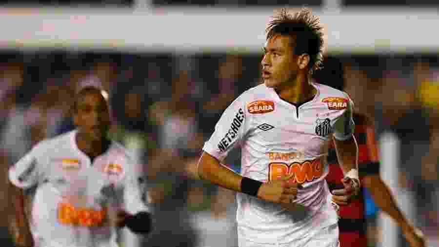 Neymar é a maior venda já feita por um clube brasileiro em todos os tempos - Ricardo Saibun/Santos FC