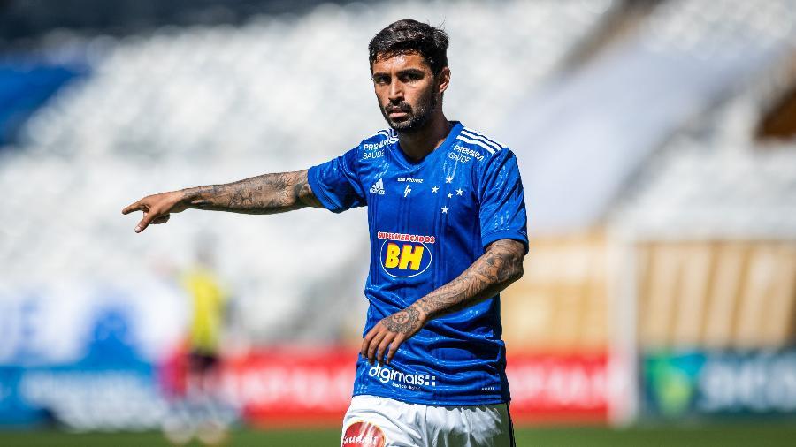 Lateral de 23 anos tem feito boas partidas e virou titular de Felipão no setor esquerdo - Bruno Haddad/Cruzeiro
